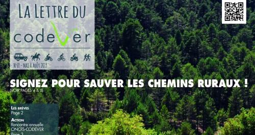-2019-  CODEVER  -  Signez pour sauver les chemins ruraux ! Ban_77a21b40960bb705da83637f16e5ca11